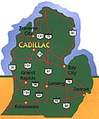 Road Map to Cadillac